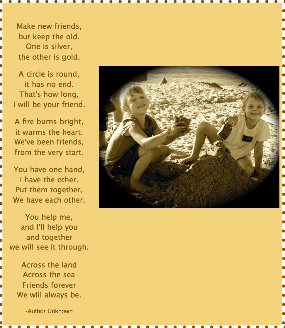 Friend Poem