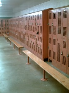Rec Center Locker Room