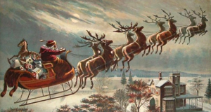 """On Dasher, on Dancer, on Prancer, on Vixon..."""