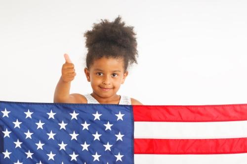 American thumb up